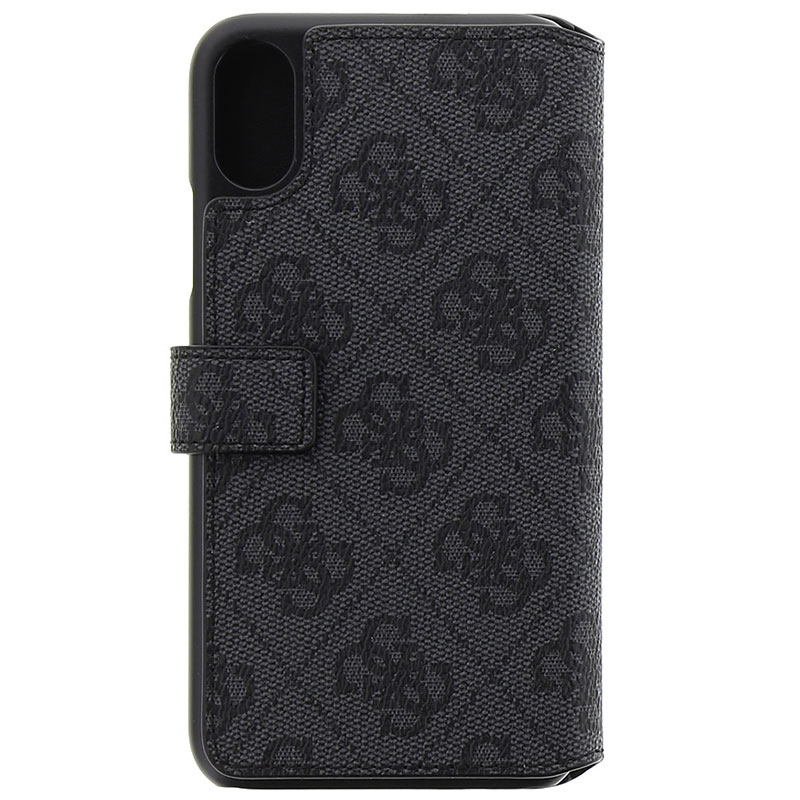 Guess 4G Charms Grey Book iPhone X/XS Tok