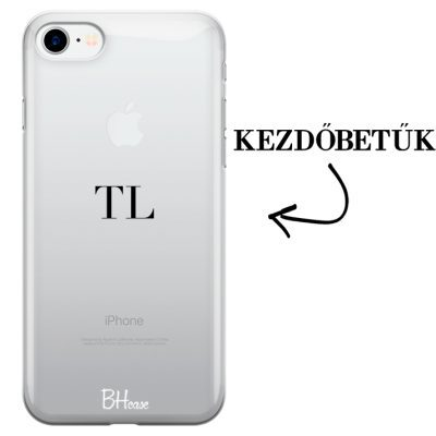 Kezdőbetűs iPhone 8/7/SE 2 2020 tok