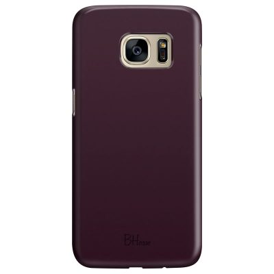 Blood Red Color Samsung S7 Tok