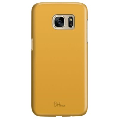 Honey Yellow Color Samsung S7 Tok
