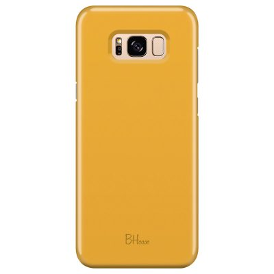 Honey Yellow Color Samsung S8 Plus Tok