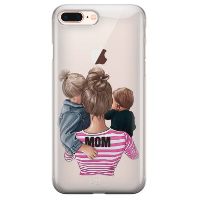 Mom Of Boy And Girl iPhone 7 Plus/8 Plus Tok
