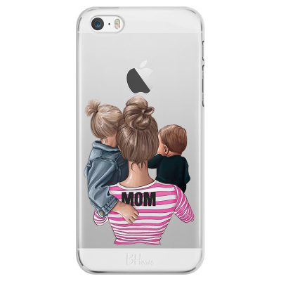 Mom Of Boy And Girl iPhone SE/5S Tok