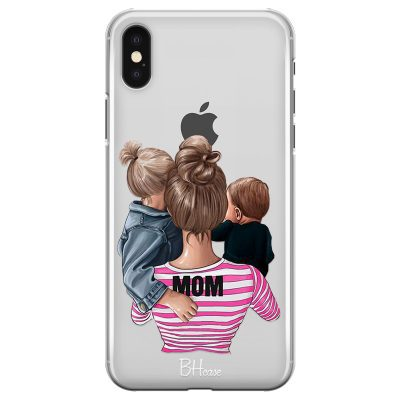 Mom Of Boy And Girl iPhone X/XS Tok