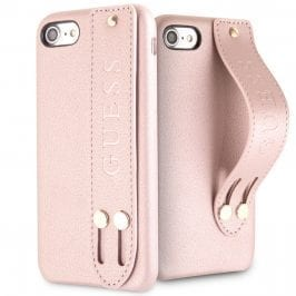 Guess Saffiano Strap Rose iPhone 8/7/SE 2 2020 Tok