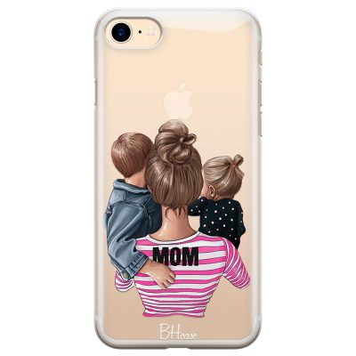 Mom Of Girl And Boy iPhone 7/8 Tok