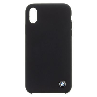 BMW Silicone Hard Black iPhone XR Tok