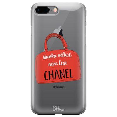 Munka Nélkül Nem Lesz Chanel iPhone 7 Plus/8 Plus Tok