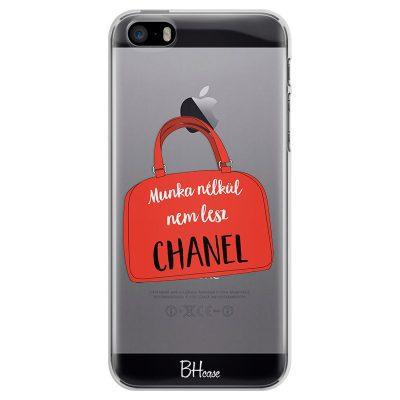 Munka Nélkül Nem Lesz Chanel iPhone SE/5S Tok