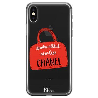 Munka Nélkül Nem Lesz Chanel iPhone X/XS Tok