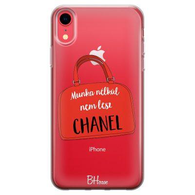 Munka Nélkül Nem Lesz Chanel iPhone XR Tok