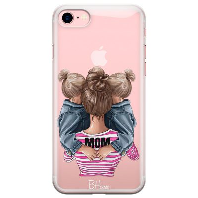 Mom Of Girl Twins iPhone 7/8 Tok