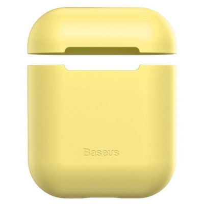 Baseus AirPods Silicone Yellow Case