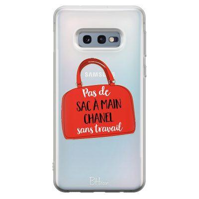 Munka Nélkül Nem Lesz Chanel Samsung S10e Tok