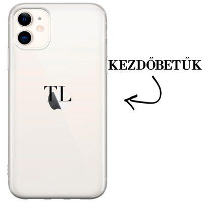 Kezdőbetűs iPhone 11 tok