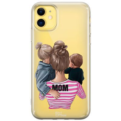 Mom Of Boy And Girl iPhone 11 Tok
