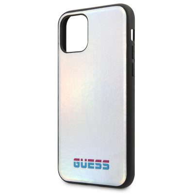 Guess Iridescent Silver iPhone 11 Pro Tok