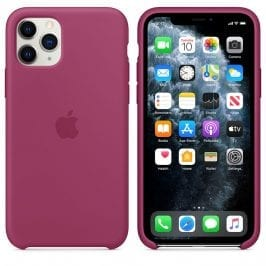 Apple Pomegranate Silicone iPhone 11 Pro Tok