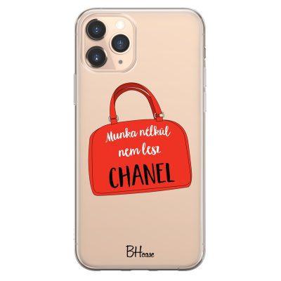 Munka Nélkül Nem Lesz Chanel iPhone 11 Pro Tok