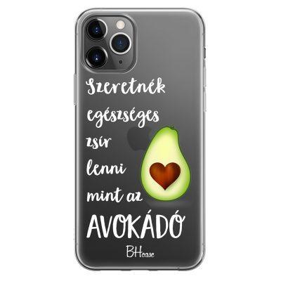 Szeretnék Lenni Avokádó iPhone 11 Pro Tok
