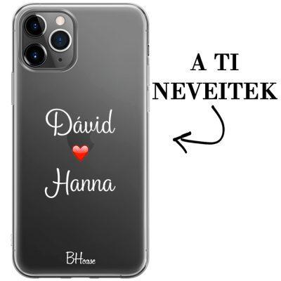 Kettős nevű iPhone 11 Pro tok