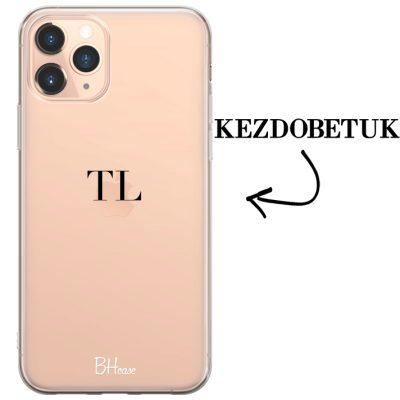 Kezdőbetűs iPhone 11 Pro tok