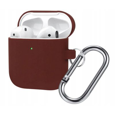 Silicone Protective Tok For Airpods Burgundy