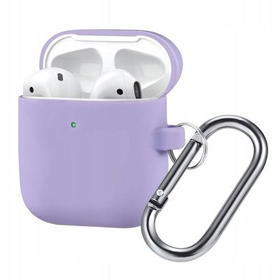 Silicone Protective Tok For Airpods Purple