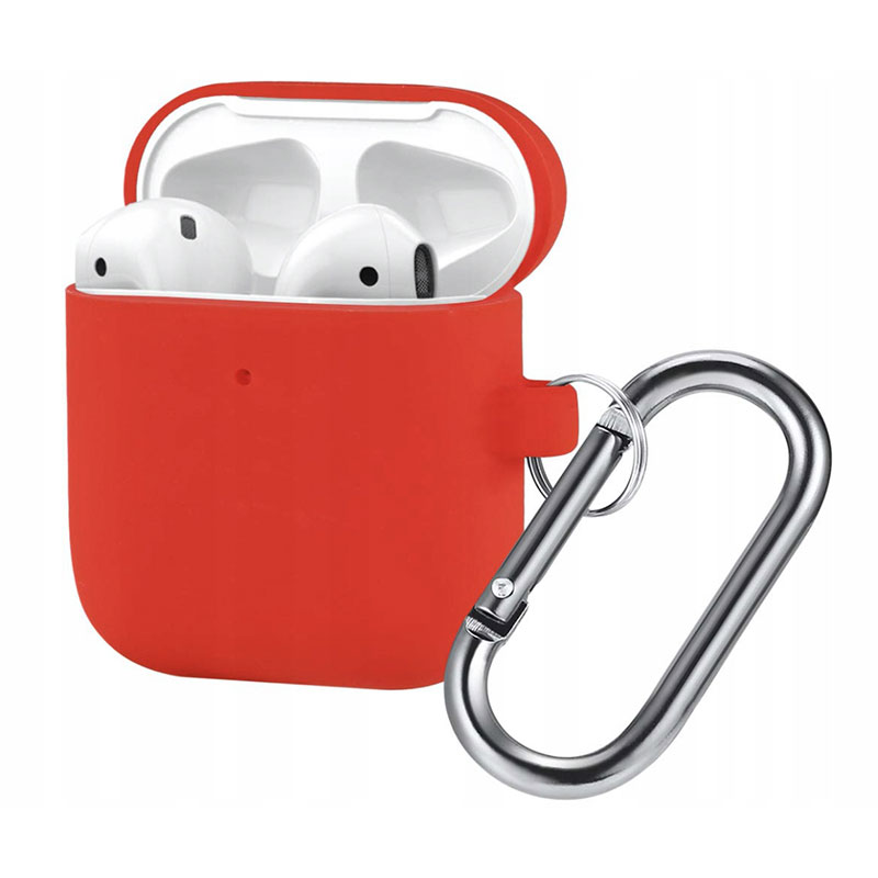 Silicone Protective Case For Airpods Red