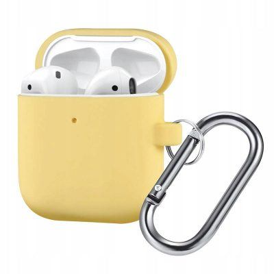 Silicone Protective Tok For Airpods Yellow