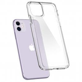Spigen Crystal Hybrid Crystal Clear iPhone 11 Tok