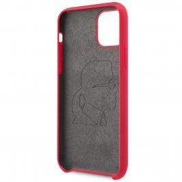 Karl Lagerfeld Iconic Full Body Silicone Red iPhone 11 Pro Max Tok