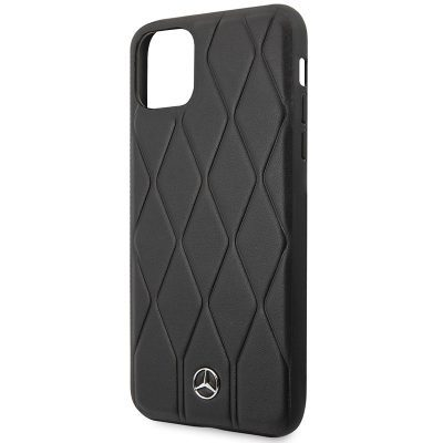 Mercedes HC Quilted Leather Black iPhone 11 Pro Tok