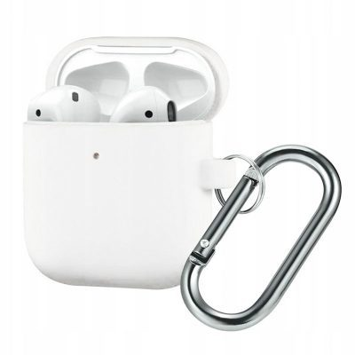 Silicone Protective Tok For Airpods White