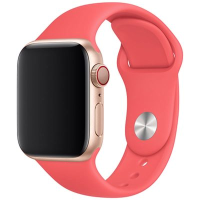 Silicone Szíj Apple Watch 42/44mm Brink Pink Large