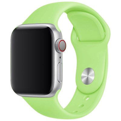 Silicone Szíj Apple Watch 42/44mm Green Large