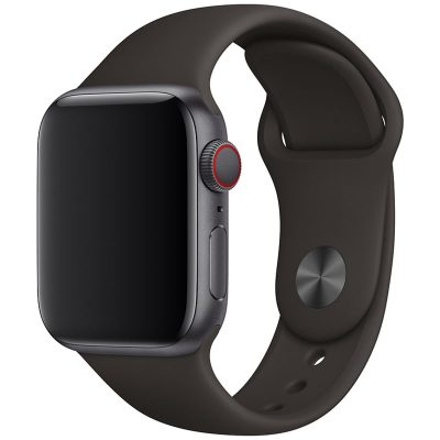 Silicone Szíj Apple Watch 42/44mm Iron Large