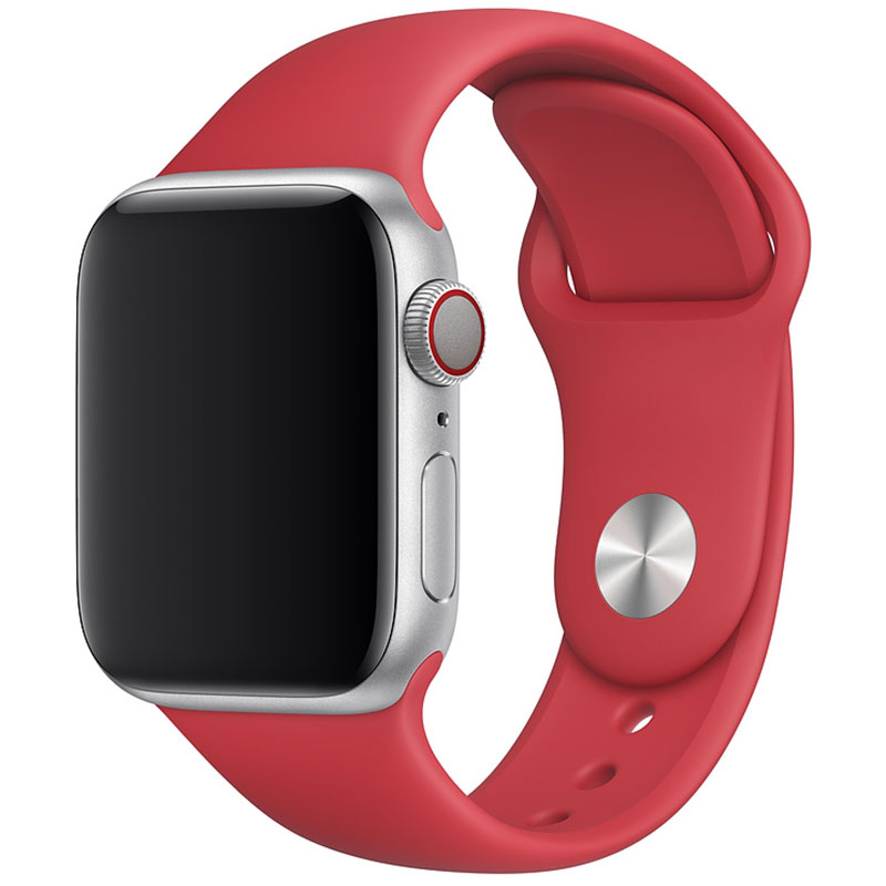Silicone Szíj Apple Watch 42/44mm Red Large