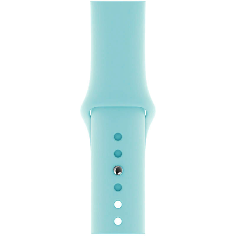 Silicone Szíj Apple Watch 42/44mm Sky Blue Large