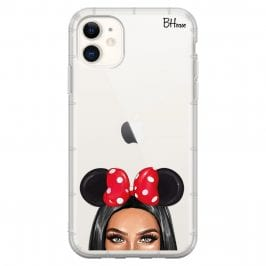 Black Haired Girl With Ribbon iPhone 11 Tok