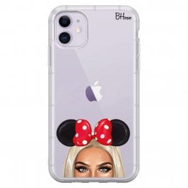 Blonde Girl With Ribbon iPhone 11 Tok