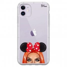 Redhead Girl With Ribbon iPhone 11 Tok