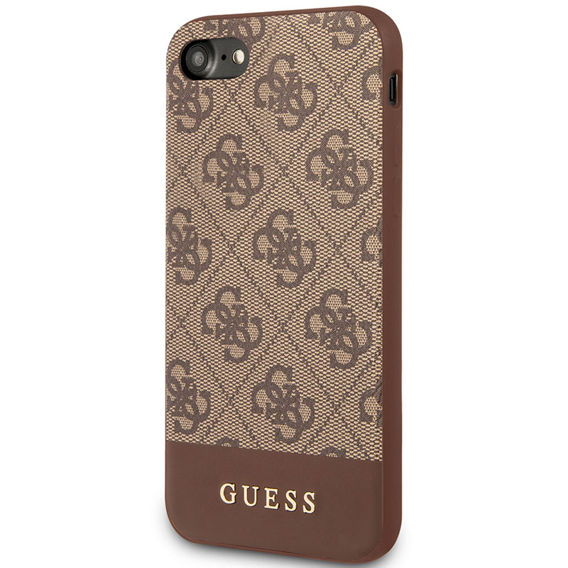 Guess 4G Stripe Brown iPhone 8/7/SE 2 2020 Tok
