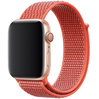 Nylon Szíj Apple Watch 42/44mm Nectarine