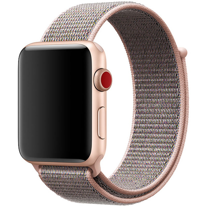 Nylon Szíj Apple Watch 38/40mm Pink Sand