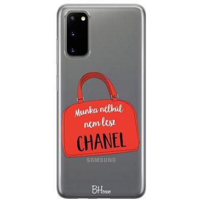 Munka Nélkül Nem Lesz Chanel Samsung S20 Tok