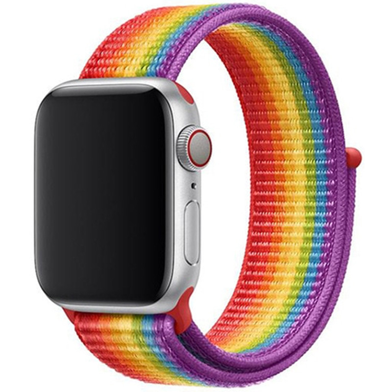 Nylon Szíj Apple Watch 42/44mm Rainbow