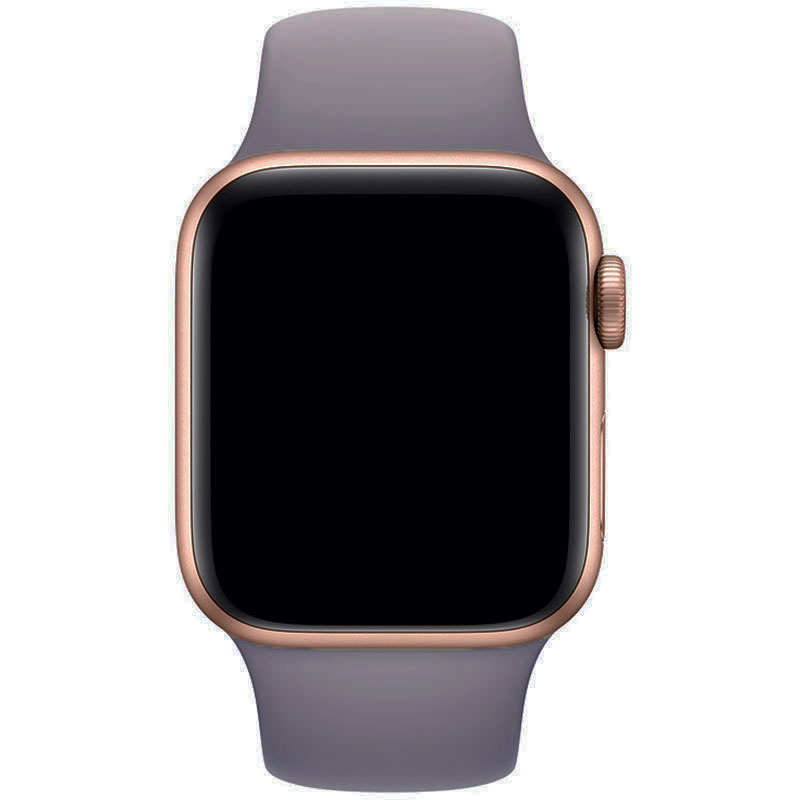 Silicone Szíj Apple Watch 42/44mm Brick Blue Large