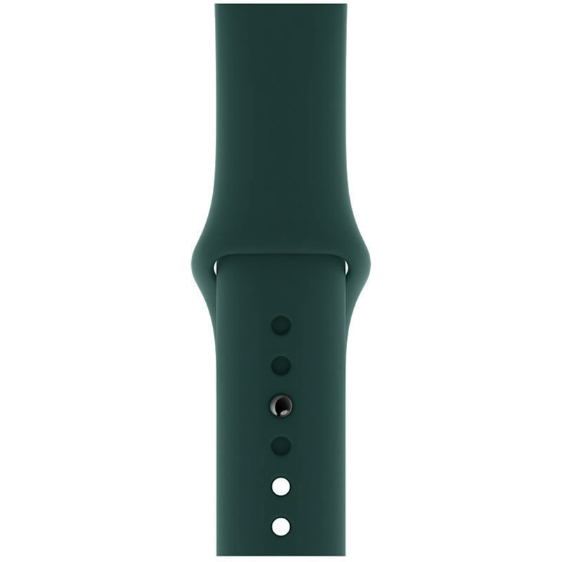 Silicone Szíj Apple Watch 42/44mm Olive Large