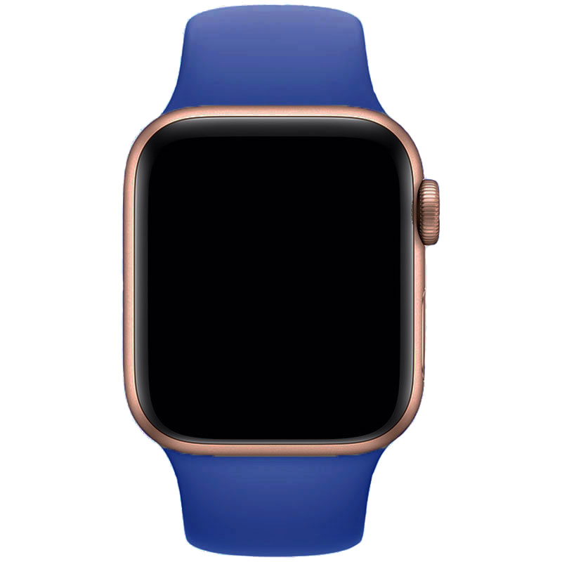 Silicone Szíj Apple Watch 42/44mm Royal Blue Large